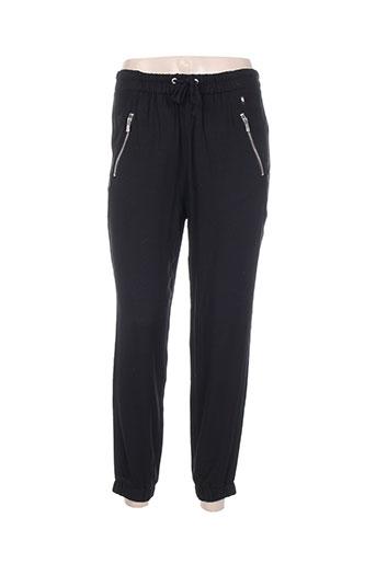 diplodocus pantalons femme de couleur noir