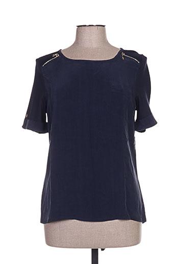 basler chemises femme de couleur bleu