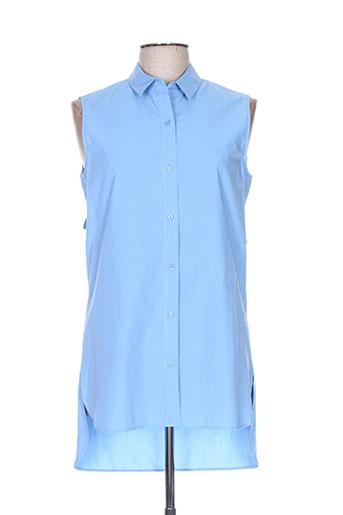 gerard darel chemises femme de couleur bleu