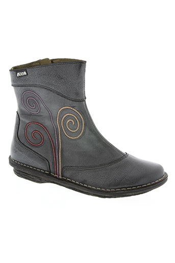 aice chaussures fille de couleur gris