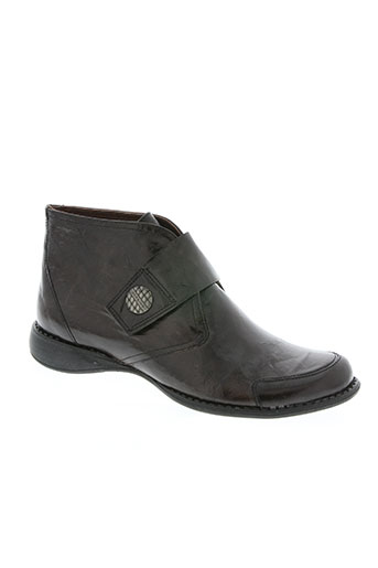 dorking chaussures fille de couleur marron
