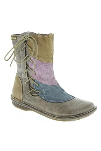 alce chaussures femme de couleur beige