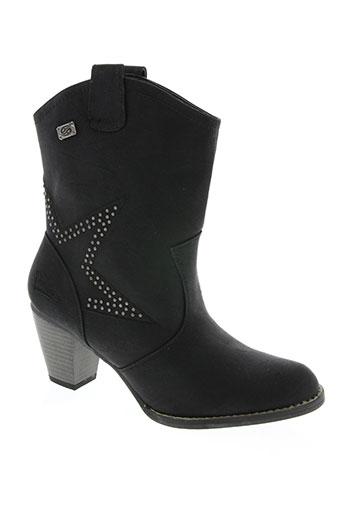 dockers chaussures femme de couleur noir