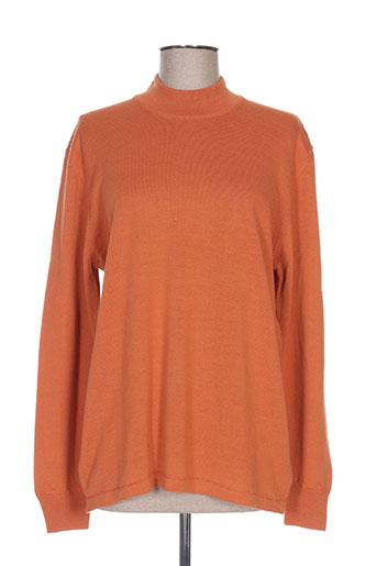 gevana pulls femme de couleur orange