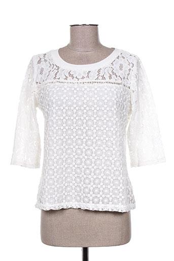 choklate t-shirts femme de couleur blanc
