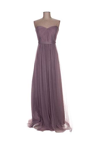 fashion new york robes femme de couleur violet