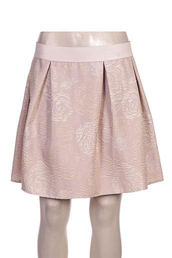 rinascimento jupes femme de couleur rose
