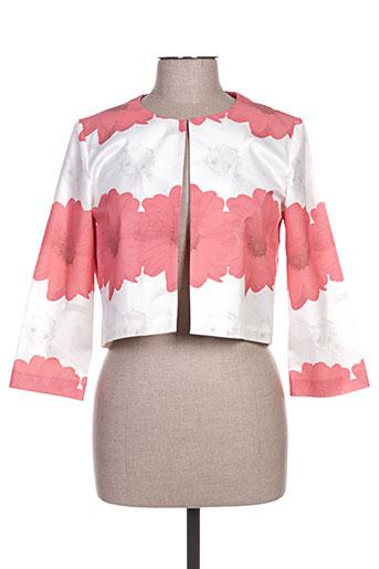 Veste chic / Blazer rouge CAMELOT pour femme