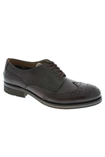 tommy hilfiger chaussures homme de couleur rouge
