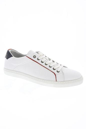 tommy hilfiger chaussures homme de couleur blanc