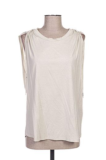 isabel marant t-shirts femme de couleur beige