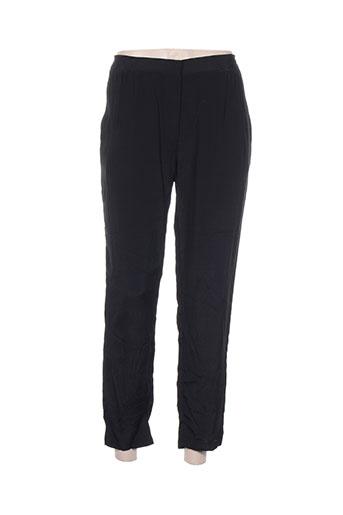 pomandere pantalons femme de couleur noir