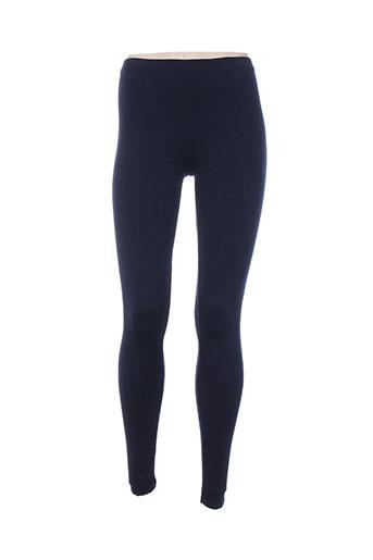 isabel marant pantalons femme de couleur bleu