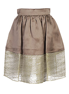 Jupe mi-longue marron GOLDEN GOOSE DELUXE BRAND pour femme