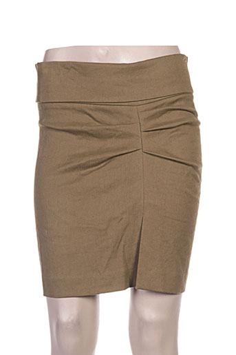isabel marant jupes femme de couleur vert