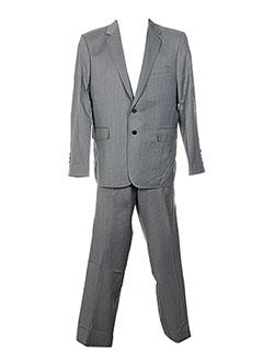 Costume de ville gris MAISON KITUSNÉ pour homme
