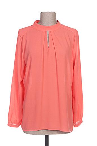 ferrache chemises femme de couleur orange