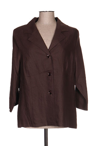 griffon vestes femme de couleur marron