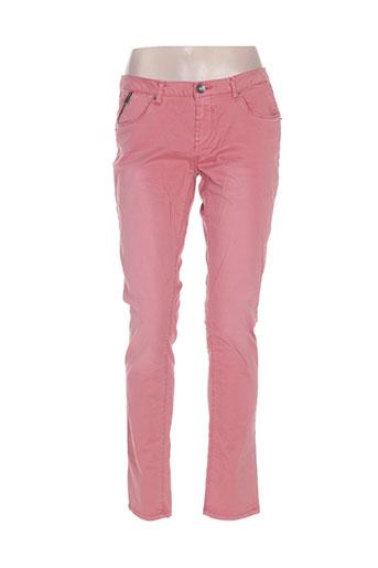 garcia jeans femme de couleur rose