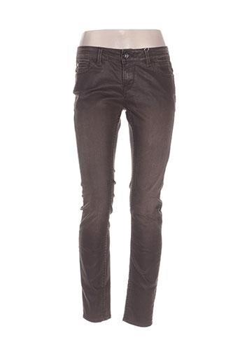 garcia jeans femme de couleur marron