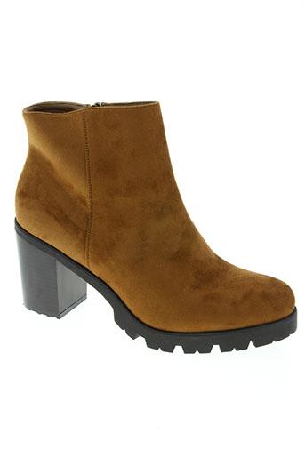 j&j shoes chaussures femme de couleur marron