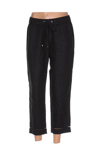 hatley pantalons femme de couleur noir