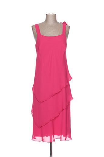 jean delfin robes femme de couleur rose