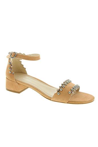 stuart weitzman chaussures femme de couleur beige