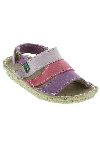 el naturalista chaussures fille de couleur violet