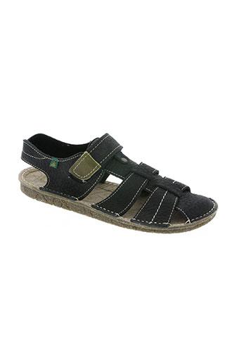 el naturalista chaussures homme de couleur noir