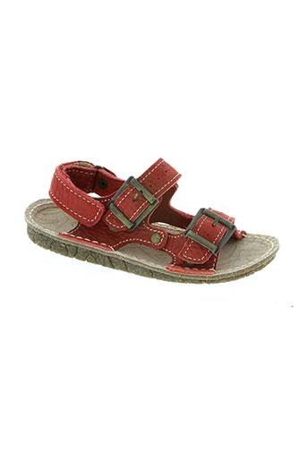 el naturalista chaussures garçon de couleur rouge