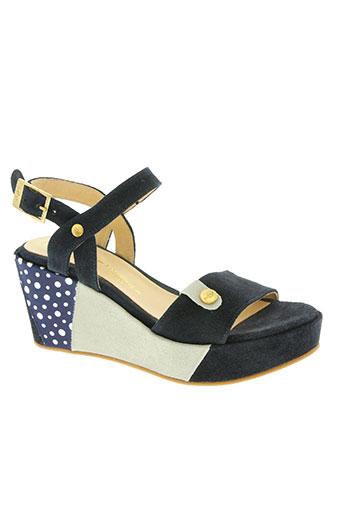 mlv chaussures femme de couleur bleu