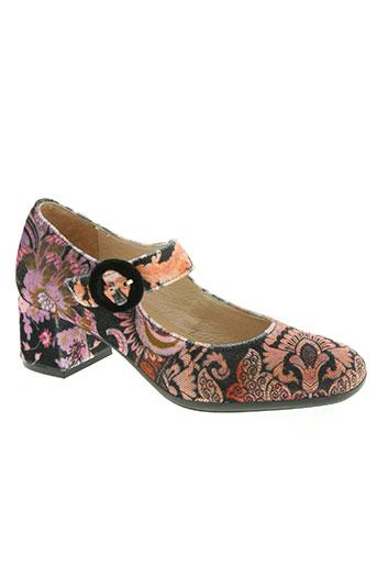 d'chicas chaussures femme de couleur rose