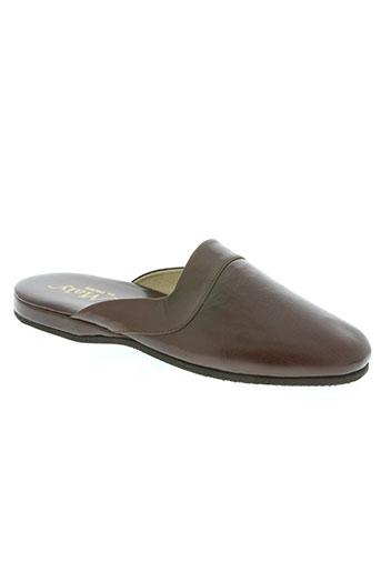 maly de paris chaussures femme de couleur marron