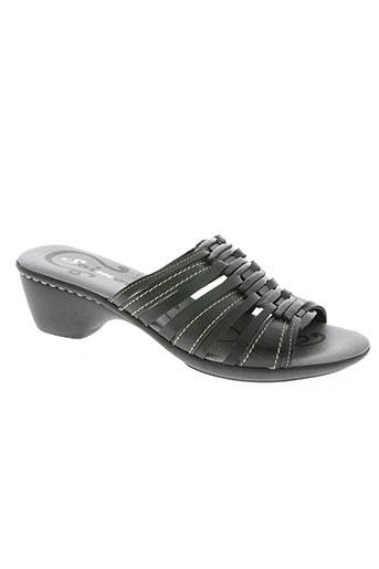 saimon chaussures femme de couleur noir