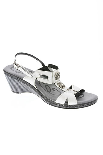 saimon chaussures femme de couleur blanc