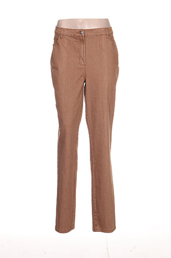 k'tendances pantalons femme de couleur marron