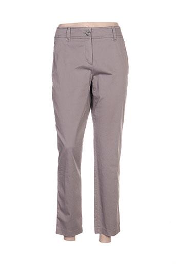 Pantalon casual gris GERRY WEBER pour femme