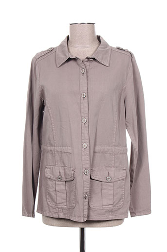 Veste casual marron BRANDTEX pour femme
