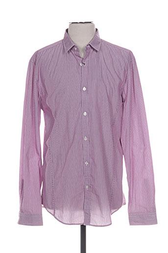 hugo boss chemises homme de couleur rose