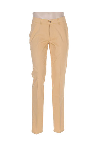 gs club pantalons homme de couleur orange