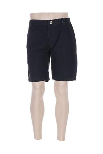 thalassa shorts / bermudas homme de couleur noir