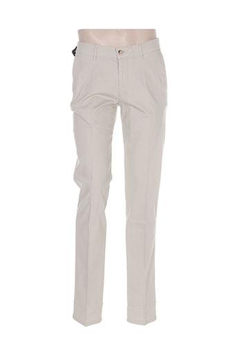 Pantalon casual beige GS CLUB pour homme