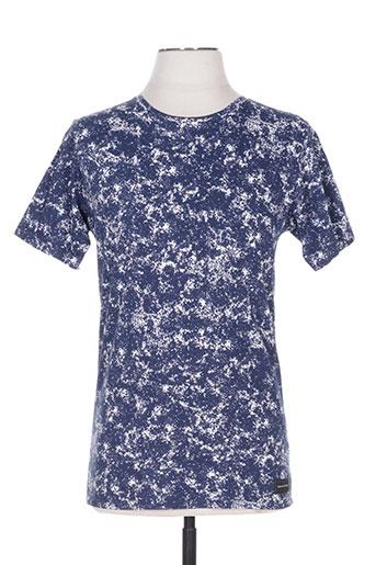bask in the sun t-shirts homme de couleur bleu