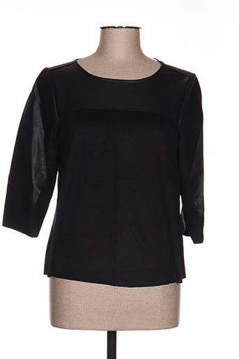 imitz chemises femme de couleur noir