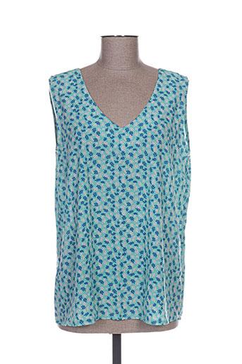 purple's t-shirts femme de couleur bleu