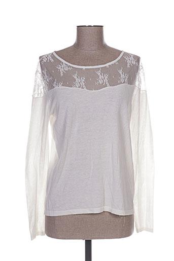 la petite etoile t-shirts femme de couleur beige