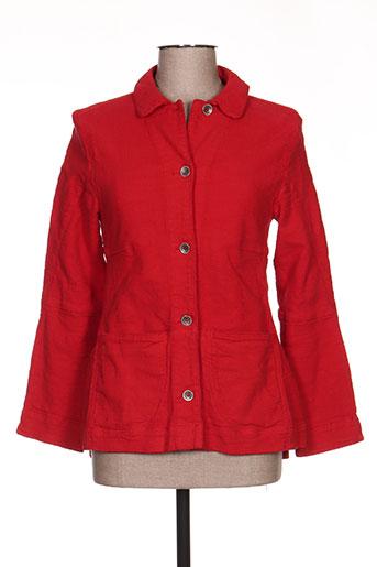 lunatisme vestes femme de couleur rouge