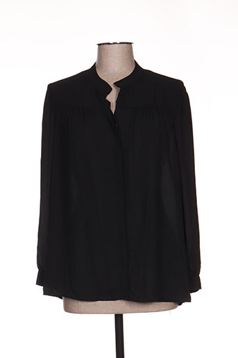 akela key chemises femme de couleur noir
