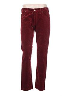Pantalon casual rouge MMX pour homme
